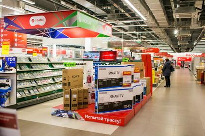 Smart TV в магазине М.Видео