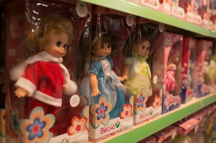 Куклы в магазине лукоморье.