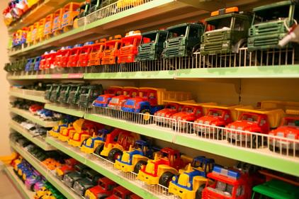Машинки в магазине Лукоморье