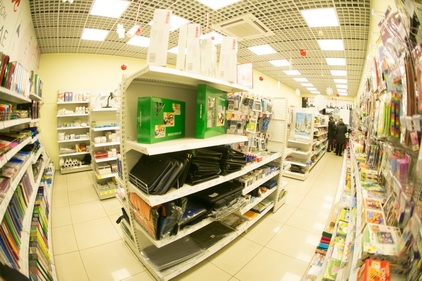 Магазин Комус в ТЦ Электра