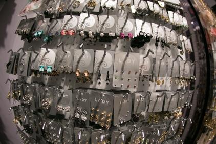 Серьги-гвоздики в магазине Lady Collection