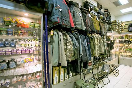 Ассотримент товара в магазине Рыбачок