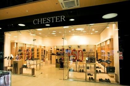 Магазин Chester расположен в ТК Электра в Санкт-Петербурге