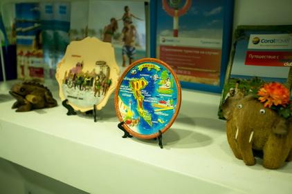 Сувениры тур-агенства Coral Travel