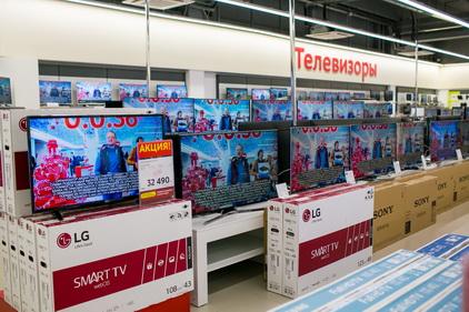 Телевизоры в магазине М.Видео