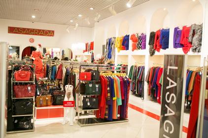 Магазин Lasagrada расположен в ТК Электра в Санкт-Петербурге
