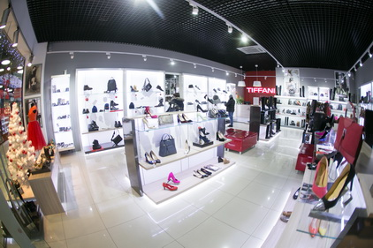 Магазин Tiffani расположен в ТК Электра в Санкт-Петербурге