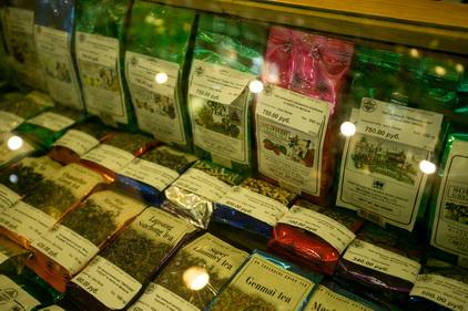 Фито чаи в магазине Mlesna