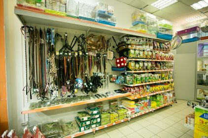 Все для животных в магазине Ле'муррр