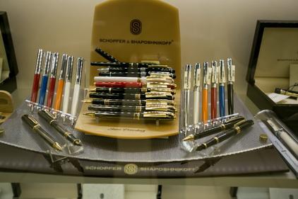 Ручки в магазине Tabakpodarki